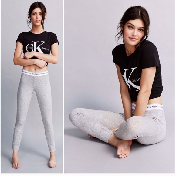 53d28c470a586 CK Calvin Klein logo cotton women shirt